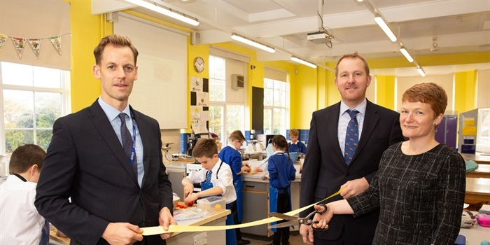 Boost For Berwick Middle School As Local Firm Marks Anniversary